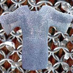 Cotte de maille acier galvanisé rivetée
