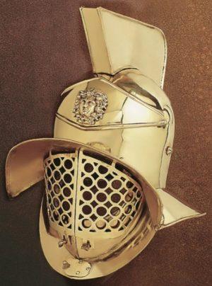 casque gladiateur c laiton