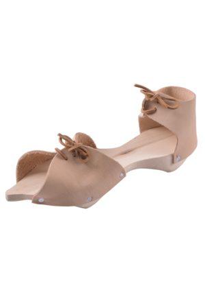Socques couvre-chaussures médiévaux