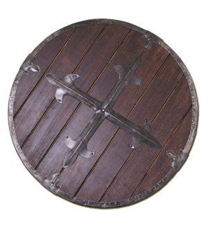 Bouclier viking rond décoration