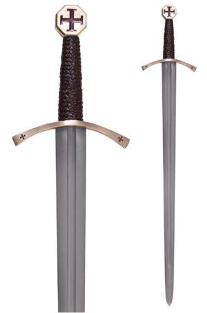 Epée des Templiers avec fourreau