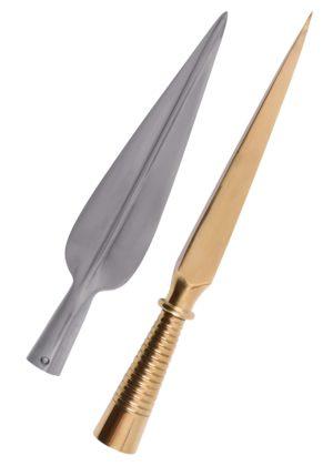 fer et talon de lance grec