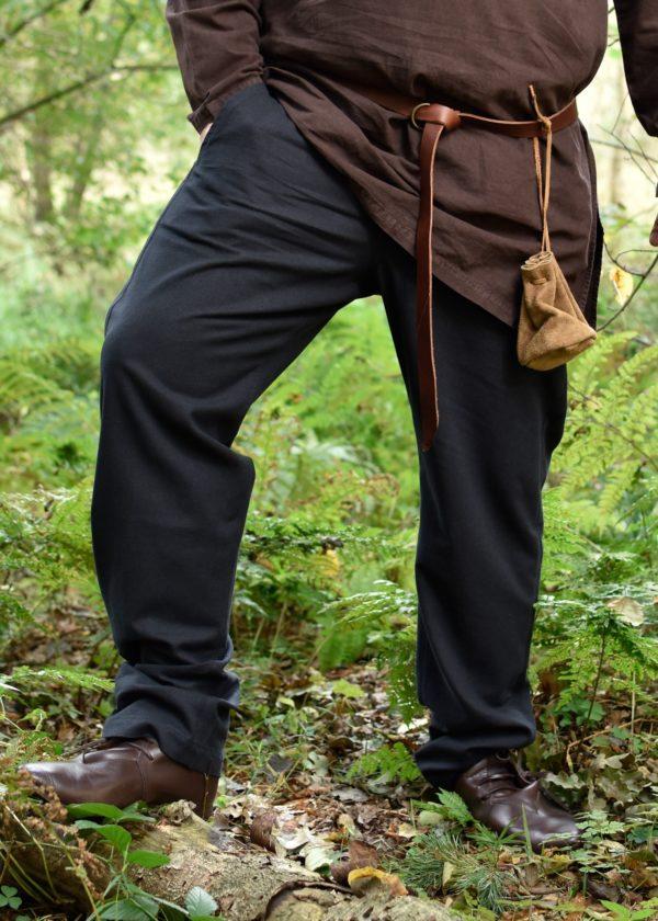 Pantalon médiéval Hagen noir
