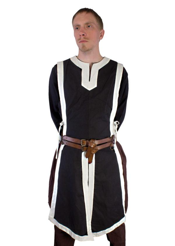 Tabard coton noir