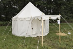 tente médiévale pavillon