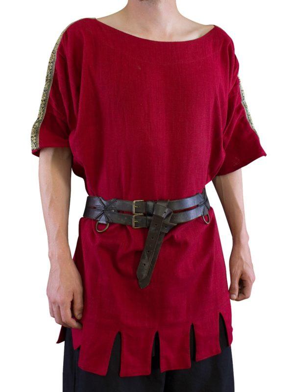 Tunique romaine manches courtes