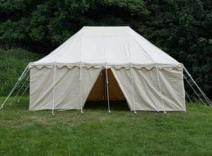 grande tente médiévale