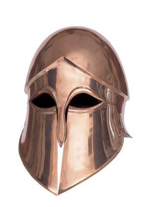 casque corinthien en bronze