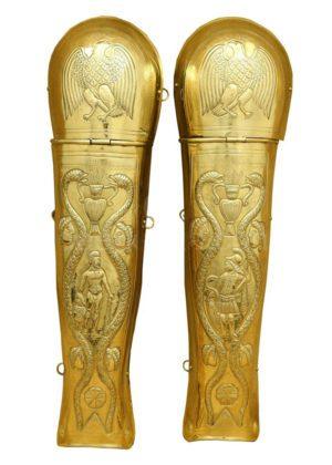 Jambières garde prétorienne romaine