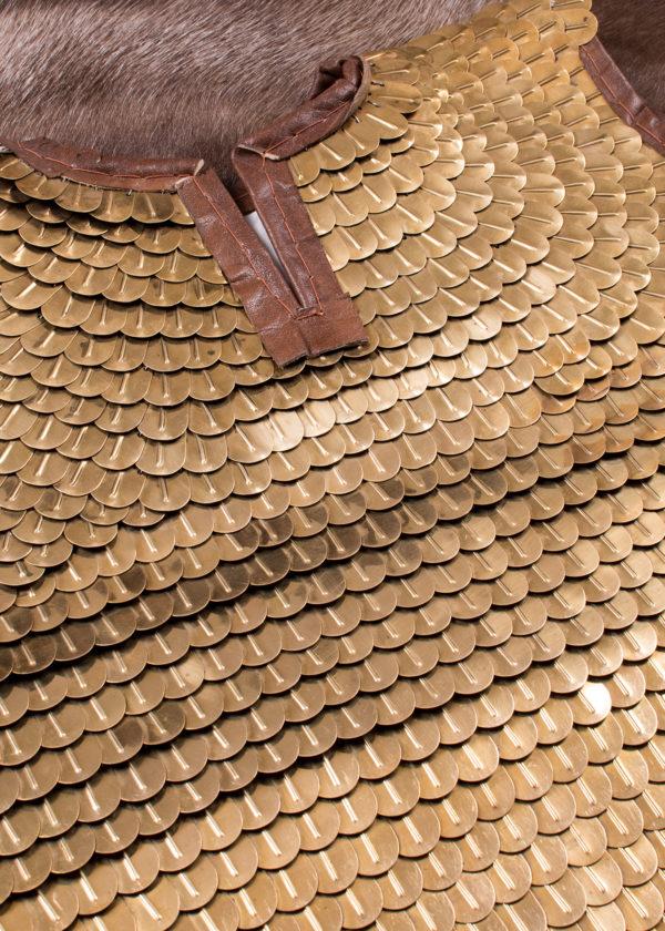 Lorica Squamata ecailles laiton