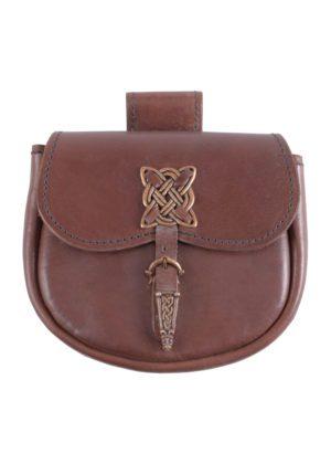 sacoche de ceinture motifs vikings