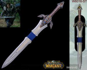 Warcraft épée Lothar