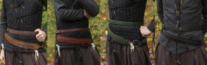 ceinture d'épée lacée