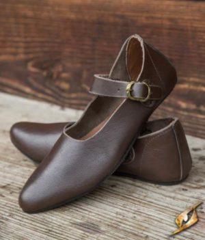 chaussures Astrid marron