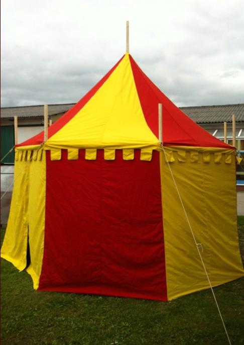 tente Herwald jaune rouge