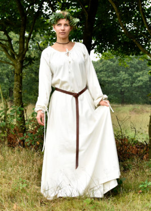 robe médiévale Ana naturelle