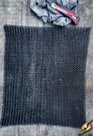 Rectangle de maille noire DIY