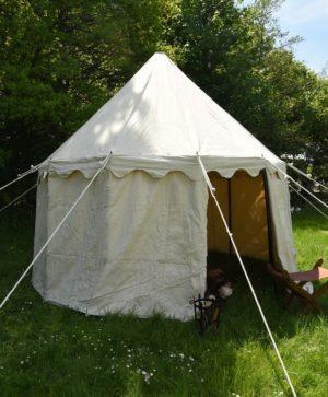 Tente médiévale ronde 4 m